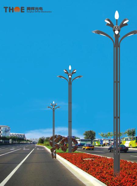 城市中心广场照明06