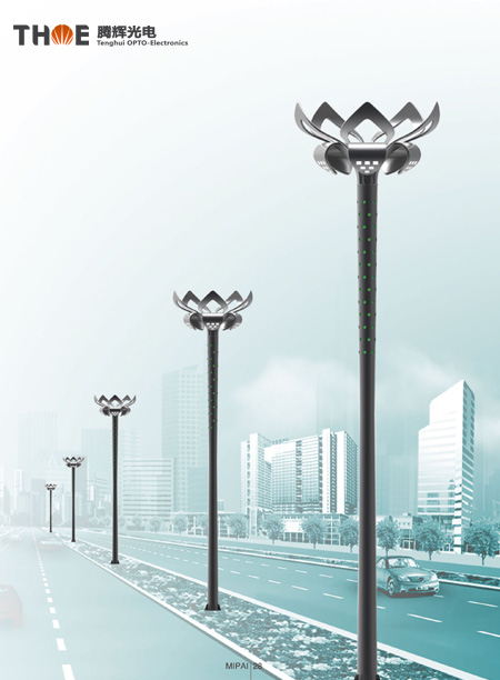 城市中心广场照明02