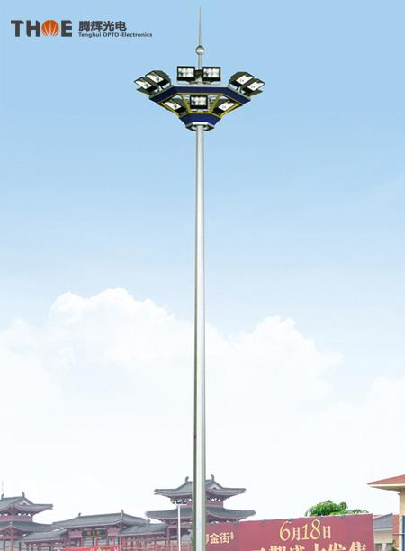 城市中心广场照明01