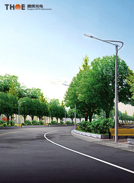 工矿道路LED路灯照明